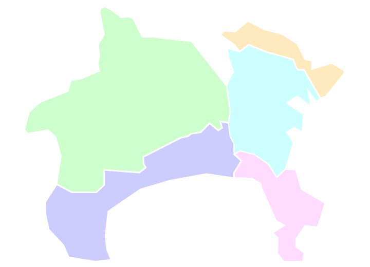 支部ブロック地図